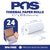 POS1 Thermal Paper 2 1/4 x 30 ft x 25mm CORELESS BPA Free 24 rolls