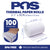 POS1 Thermal Paper 2 1/4 x 50 ft x 30mm CORELESS BPA Free 100 rolls