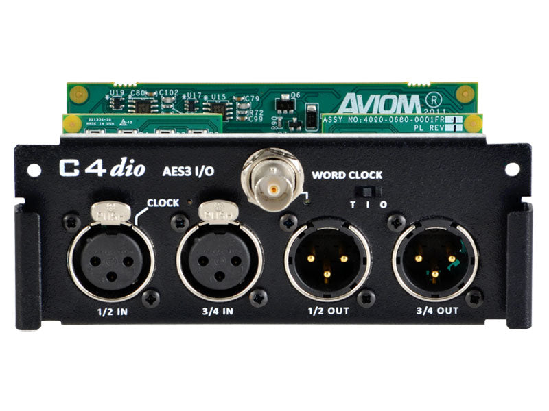 Aviom C4dio Digital I/O Card