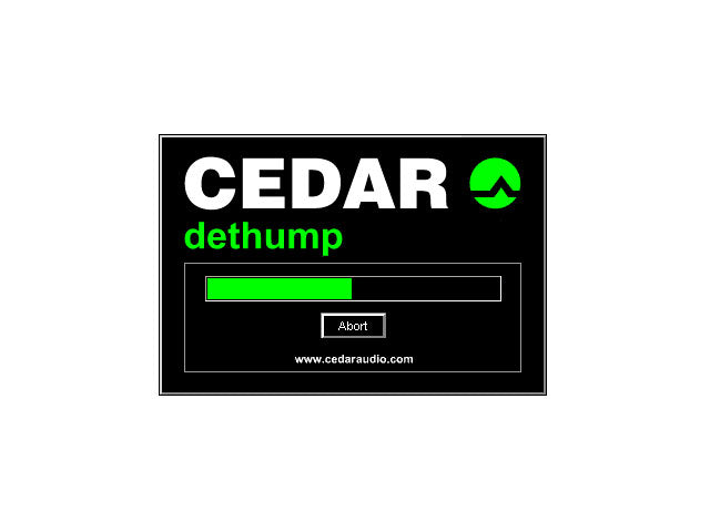 CEDAR Dethump for Pyramix 64