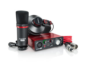 Focusrite Scarlett Solo Studio Pack (2nd Gen)
