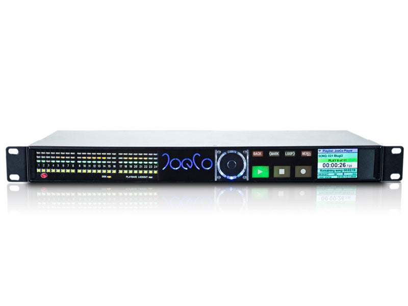 JoeCo 24 channel BLACKBOX Player Unbalanced