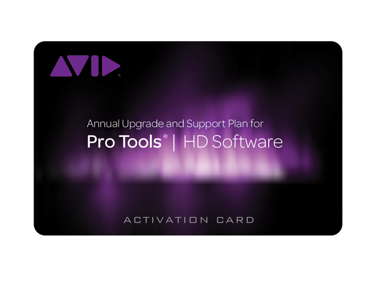 Avid Pro Tools HD Annual Upgrade and Support Plans