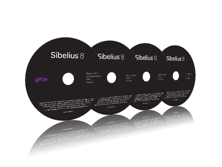 Avid Sibelius DVD Media Pack