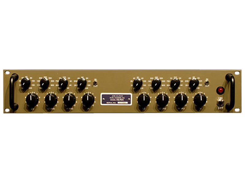 JDK Audio R24 Dual Channel 4-Band Equalizer