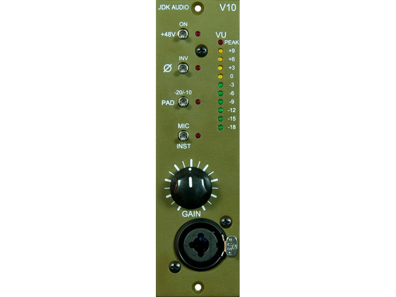 JDK Audio V10 Single Channel Mic Pre