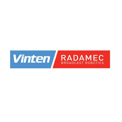 Vinten-Radamec Cable management includes 24V power and ethernet per metre