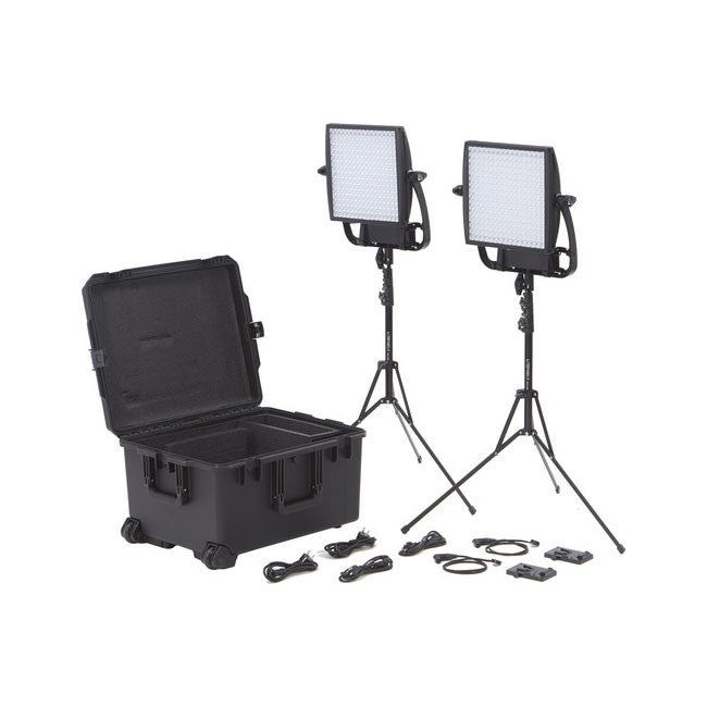 Litepanels Astra 1x1  EP Traveler Duo V-Mount Kit