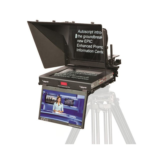 "Autoscript EPIC 19"" Dual Monitor Teleprompter System"