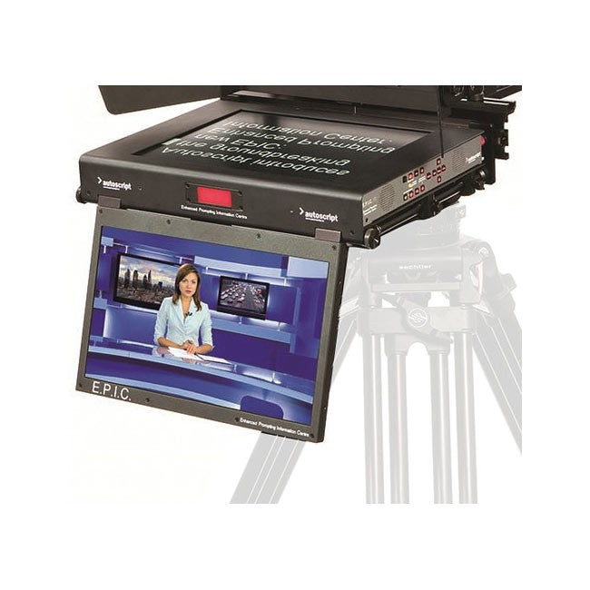 "Autoscript 19"" all-in-one prompter monitor"
