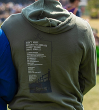 Load image into Gallery viewer, 2019 Lineup Zip-Up Horseshoe Hoodie - Olive