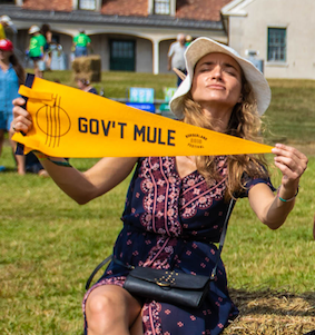 Gov't Mule Pennant by Oxford Pennant
