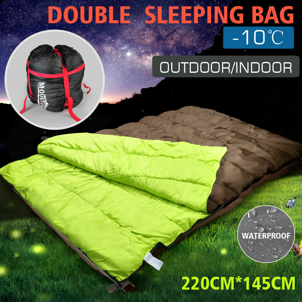 online store a1293 dd1b6 **FREE POST! Today Sale! Winter Outdoor Sleeping Bag Double Size Ski Hiking  Camping