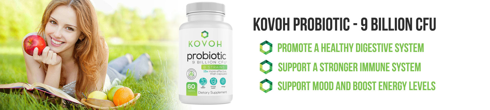 KOVOH Probiotic - 9 Billion CFU
