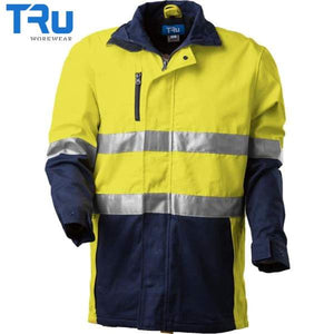 TRu Workwear - 3/4 Jacket, Cotton Canvas, 3M Tape, Y/N
