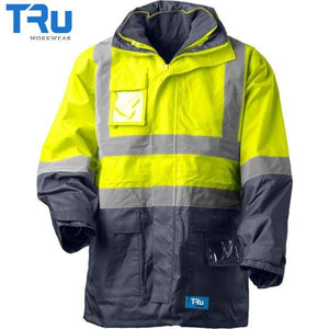 TRu Workwear - Rain Jacket, Poly Oxford, Tape, Y/N