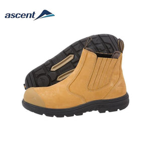 Ascent Safety Boot Sigma 2 Scuff Cap Wheat Workwear