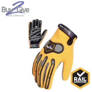 B2G 360 Degree Cut 5 Mechanics Glove Aust Std Cert Rail Spec Safety Wear