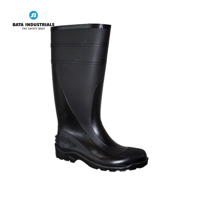 Bata Non-Safety Gumboot Handyman 400 Black Workwear