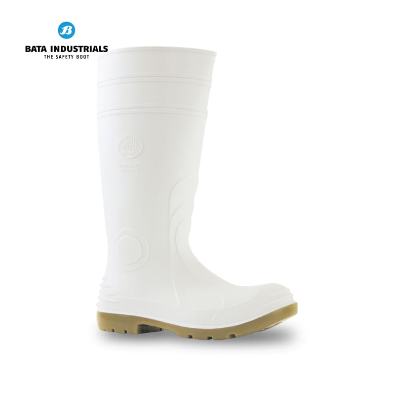 Bata Non-Safety Gumboot Jobmaster 2 400 White Workwear