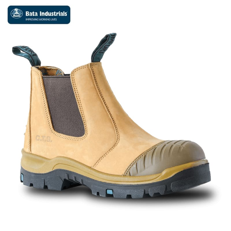 Bata Safety Boot Worx Wheat Workwear