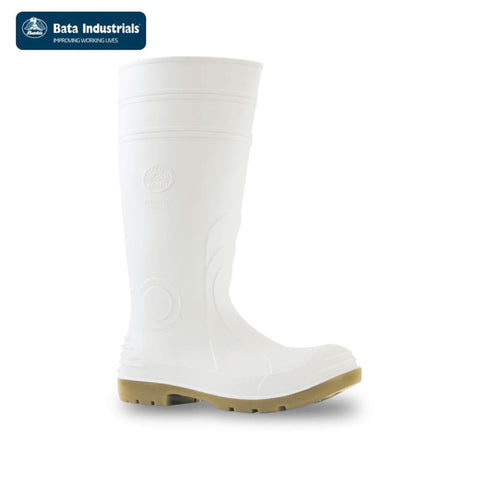 Bata Safety Gumboot Jobmaster 2 300 White Workwear