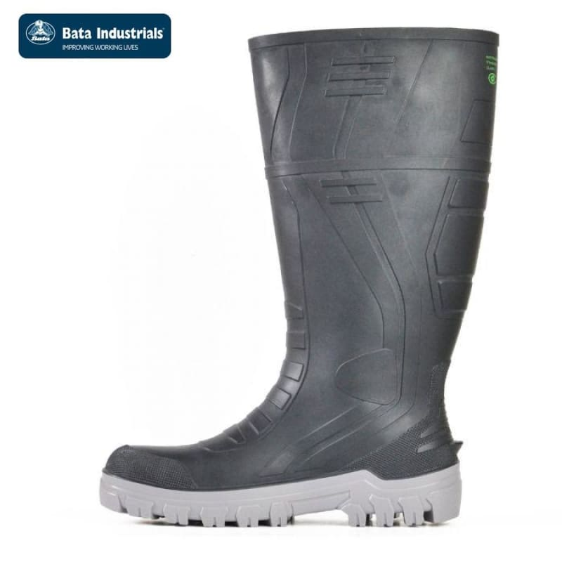 Bata Safety Gumboot Jobmaster 3 400 Black Workwear