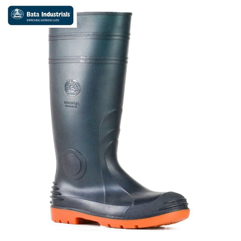 Bata Safety Gumboot Jobmaster 3 Green/orange Workwear