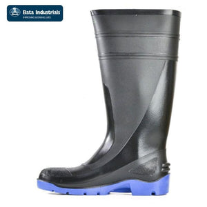 Bata Safety Gumboot Utility 400 Black/blue Workwear