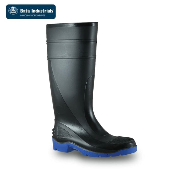 0197a7757ad Bata, Safety Gumboot, Utility, 400, Black/Blue