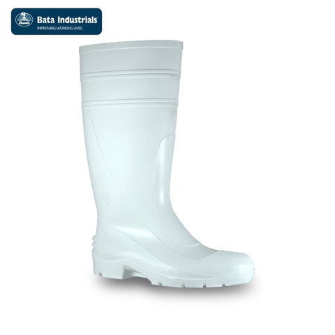 Bata Safety Gumboot Utility 400 White Workwear