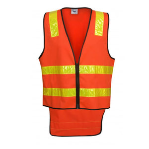 Blue Whale Vic Road Style Day Night Vest Red