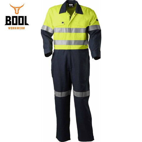 Bool Workwear - Flame Retardant Rip-Stop Coverall Fr Tape