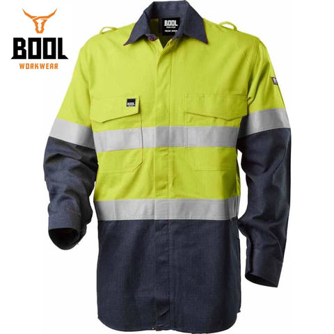 Bool Workwear - Flame Retardant Shirt Light Rip-Stop Fr Tape