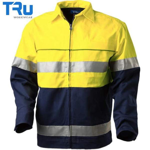 TRu Workwear - Jacket, Cotton Canvas, 3M Tape, Y/N