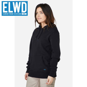 Elwd Workwear - Basic Pullover Cotton/poly Black
