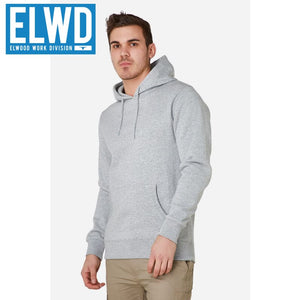 Elwd Workwear - Basic Pullover Cotton/poly Grey Marle