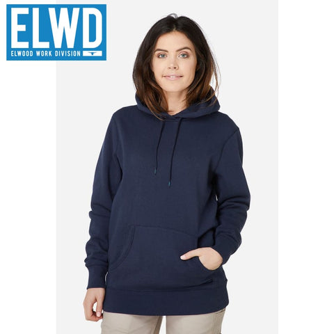 Elwd Workwear - Basic Pullover Cotton/poly Navy