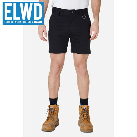 Elwd Workwear - Basic Shorts Cotton/poly Black