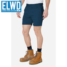 Load image into Gallery viewer, Elwd Workwear - Basic Shorts Cotton/poly Navy
