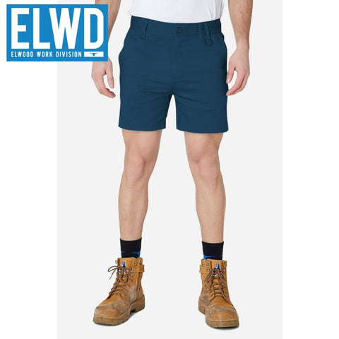 Elwd Workwear - Basic Shorts Cotton/poly Navy