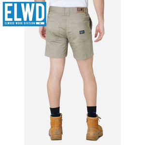 Elwd Workwear - Basic Shorts Cotton/poly Stone