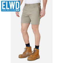 Load image into Gallery viewer, Elwd Workwear - Basic Shorts Cotton/poly Stone