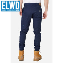Load image into Gallery viewer, Elwd Workwear - Cuffed Pant Cotton/poly Navy