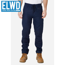 Load image into Gallery viewer, Elwd Workwear - Elastic Pant Cotton Navy
