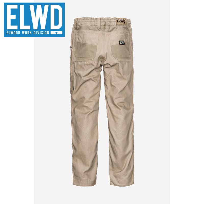 Elwd Workwear - Elastic Pant Cotton Stone