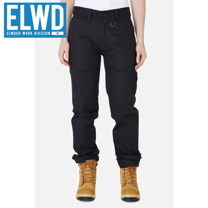 Elwd Workwear - Ladies Basic Pant Cotton/poly Black