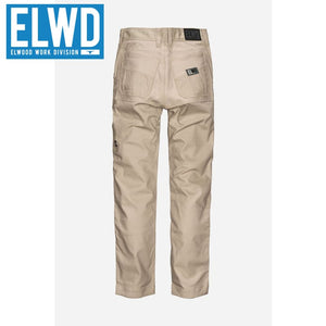 Elwd Workwear - Ladies Basic Pant Cotton/poly Light Stone