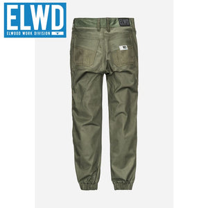 Elwd Workwear - Ladies Cuffed Pant Cotton/poly Army