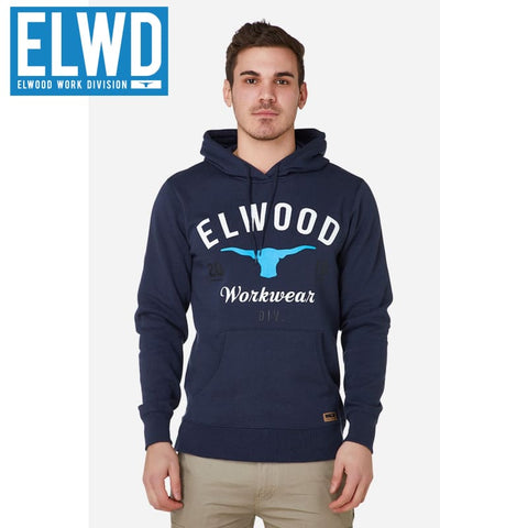 Elwd Workwear - Original Pullover Cotton/poly Navy